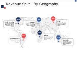 Revenue Split By Geography Ppt Infographic Template Example File