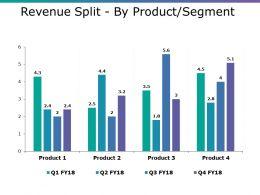 Revenue Split By Product Segment Ppt Summary Skills