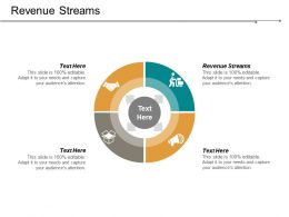 Revenue Streams Ppt Powerpoint Presentation File Slides Cpb