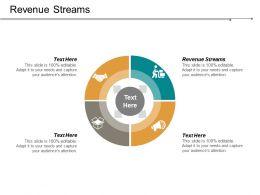 Revenue Streams Ppt Powerpoint Presentation File Slides Cpb
