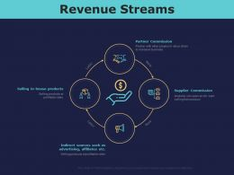 Revenue Streams Ppt Powerpoint Presentation Gallery Backgrounds