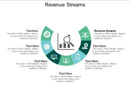 Revenue Streams Ppt Powerpoint Presentation Ideas Guidelines Cpb