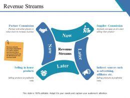 Revenue Streams Presentation Images
