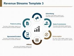 Revenue Streams Template Powerpoint Slide Presentation Examples