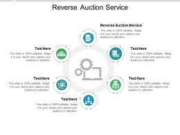Reverse Auction Service Ppt Powerpoint Presentation Diagram Graph Charts Cpb