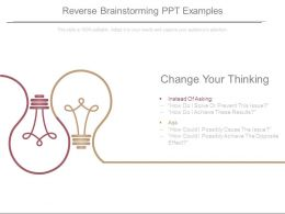 Reverse Brainstorming Ppt Examples