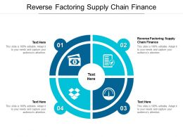 Reverse Factoring Supply Chain Finance Ppt Powerpoint Presentation Styles Images Cpb
