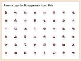 Reverse Logistics Management Icons Slide Ppt Powerpoint Inspiration