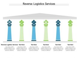Reverse Logistics Services Ppt Powerpoint Presentation Inspiration Templates Cpb