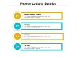 Reverse Logistics Statistics Ppt Powerpoint Presentation Styles Portfolio Cpb