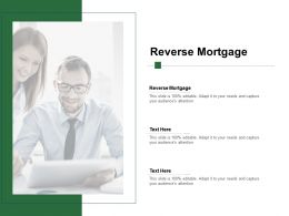 Reverse Mortgage Ppt Powerpoint Presentation Inspiration Aids Cpb