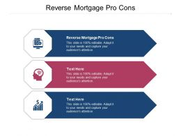 Reverse Mortgage Pro Cons Ppt Powerpoint Presentation Outline Designs Download Cpb