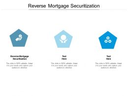 Reverse Mortgage Securitization Ppt Powerpoint Presentation Styles Good Cpb