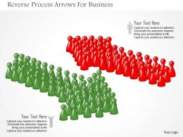 Reverse Process Arrows For Business Powerpoint Templates