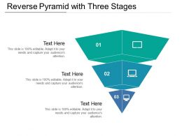 Reverse Pyramid With Three Stages