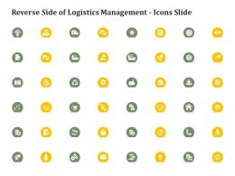 Reverse Side Of Logistics Management Icons Slide Reverse Side Of Logistics Management Ppt Gallery