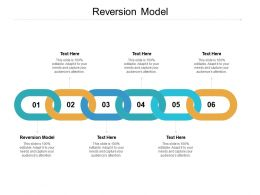 Reversion Model Ppt Powerpoint Presentation Infographics Templates Cpb
