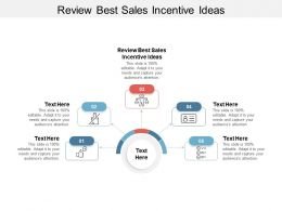 Review Best Sales Incentive Ideas Ppt Powerpoint Presentation Layouts Files Cpb