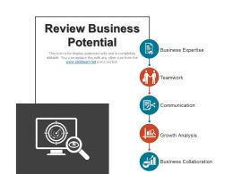 Review Business Potential Presentation Ideas