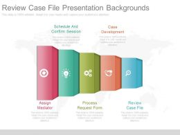 Review Case File Presentation Backgrounds