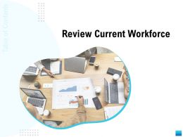 Review Current Workforce N249 Powerpoint Presentation Formats