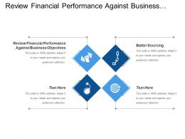 Review Financial Performance Against Business Objectives Batter Sourcing