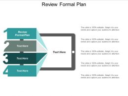 Review Formal Plan Ppt Powerpoint Presentation Icon Display Cpb