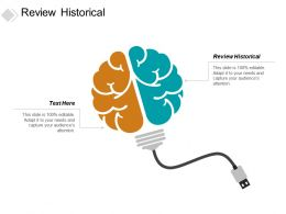 Review Historical Ppt Powerpoint Presentation Styles Layout Cpb