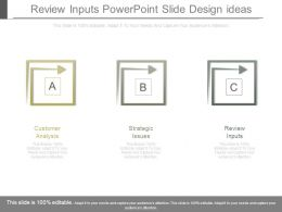 Review Inputs Powerpoint Slide Design Ideas