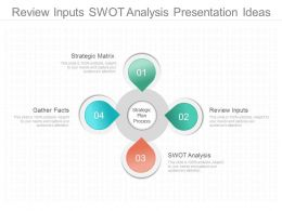 Review Inputs Swot Analysis Presentation Ideas