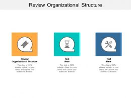 Review Organizational Structure Ppt Powerpoint Presentation Slides Sample Cpb