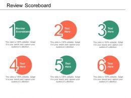 Review Scoreboard Ppt Powerpoint Presentation File Layout Ideas Cpb