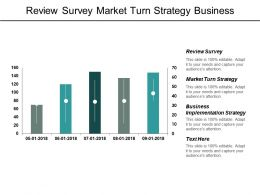 Review Survey Market Turn Strategy Business Implementation Strategy Cpb
