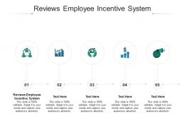 Reviews Employee Incentive System Ppt Powerpoint Presentation Gridlines Cpb