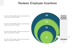 Reviews Employee Incentives Ppt Powerpoint Presentation Slide Cpb