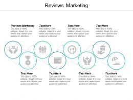 Reviews Marketing Ppt Powerpoint Presentation Professional Templates Cpb