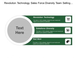Revolution Technology Sales Force Diversity Team Selling Approach Global Experienced