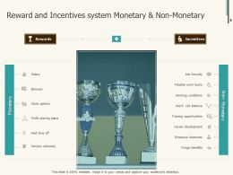 Reward And Incentives System Monetary And Non Monetary Ppt Shapes