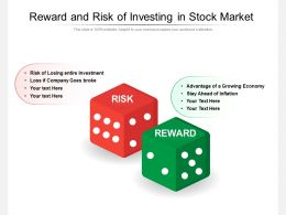 Reward And Risk Of Investing In Stock Market