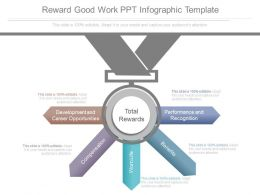 Reward Good Work Ppt Infographic Template
