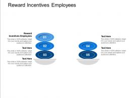 Reward Incentives Employees Ppt Powerpoint Presentation Professional Clipart Cpb