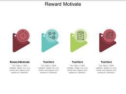 Reward Motivate Ppt Powerpoint Presentation File Inspiration Cpb