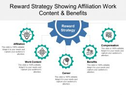 Reward Strategy Showing Affiliation Work Content And Benefits