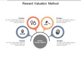 Reward Valuation Method Ppt Powerpoint Presentation Portfolio Objects Cpb