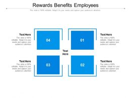 Rewards Benefits Employees Ppt Powerpoint Presentation Professional Visual Aids Cpb