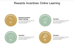 Rewards Incentives Online Learning Ppt Powerpoint Presentation Show Shapes Cpb