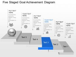 17506006 Style Essentials 1 Agenda 5 Piece Powerpoint Presentation Diagram Infographic Slide