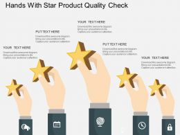 rg_hands_with_star_product_quality_check_flat_powerpoint_design_Slide01