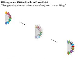42848387 Style Circular Semi 11 Piece Powerpoint Presentation Diagram Infographic Slide