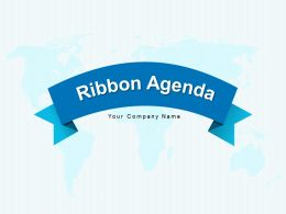 Ribbon Agenda Technology Communication Business Marketing Planning Strategy